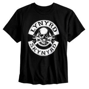Lynyrd Skynyrd Biker Patch T-Shirt L XL Boys NWT